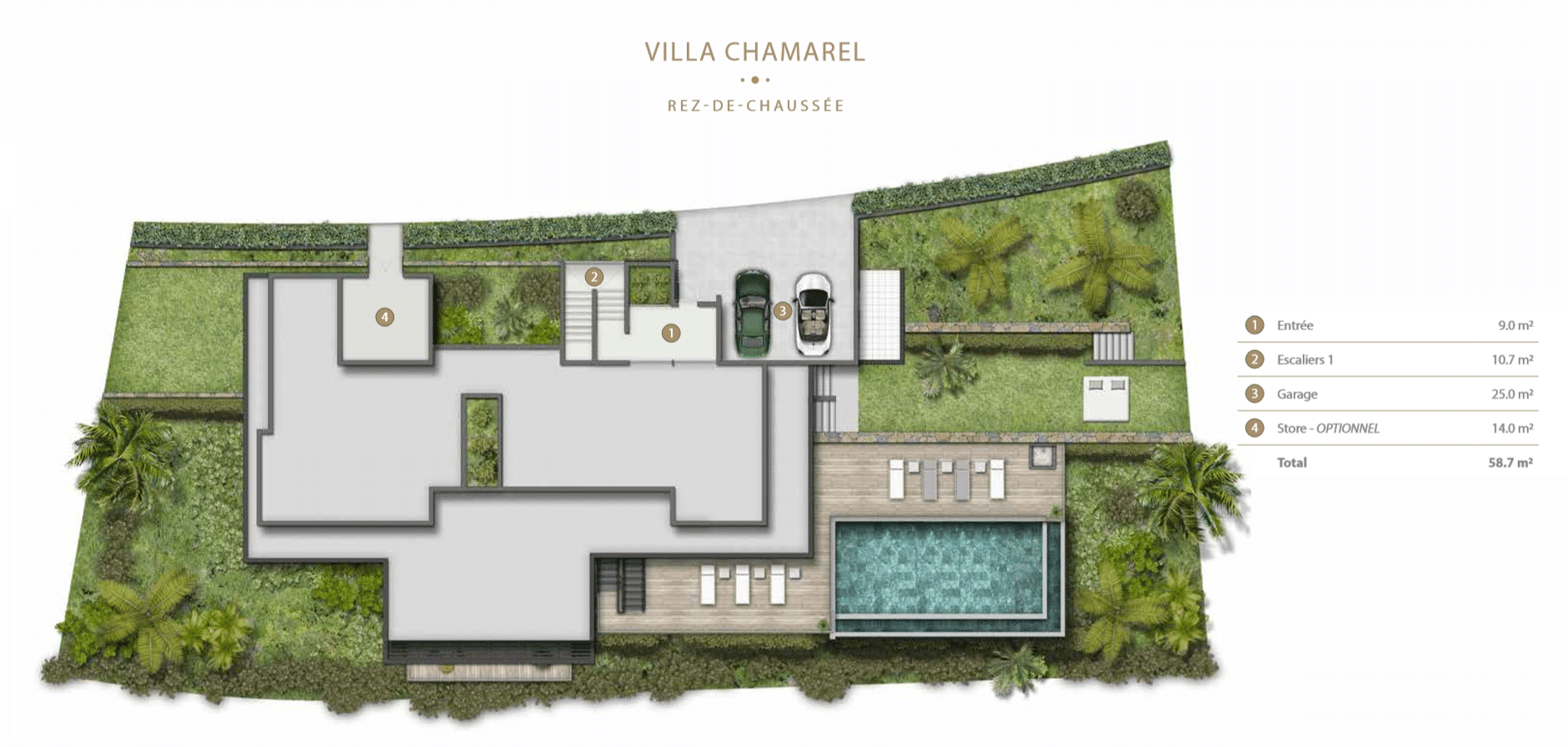 Villa Chamarel Legend Hill Ile Maurice