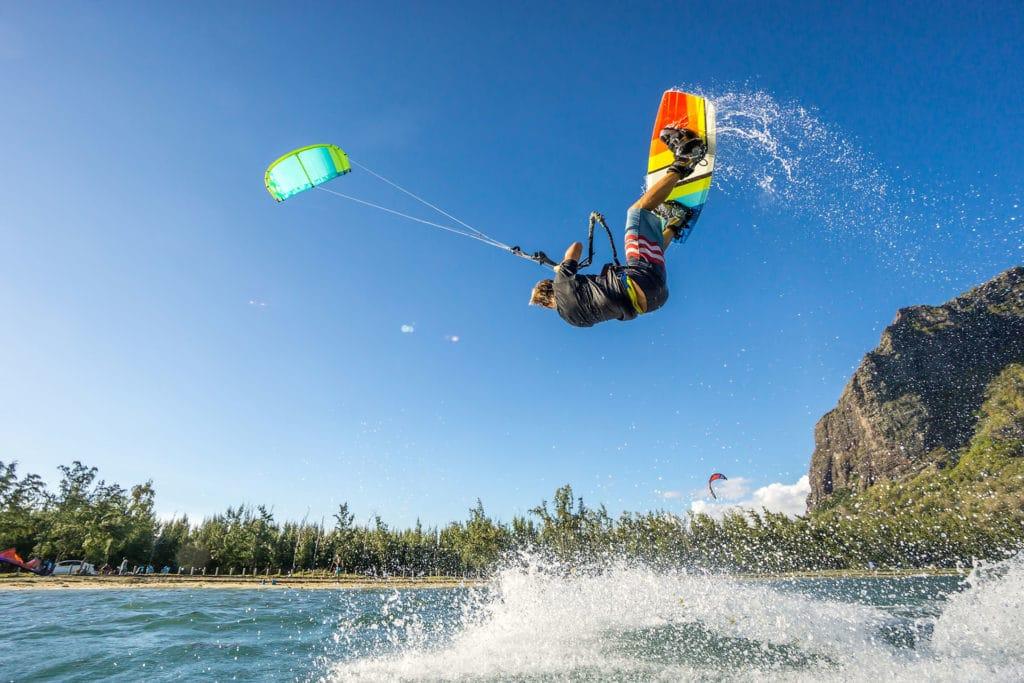 activité kitesurf ile maurice