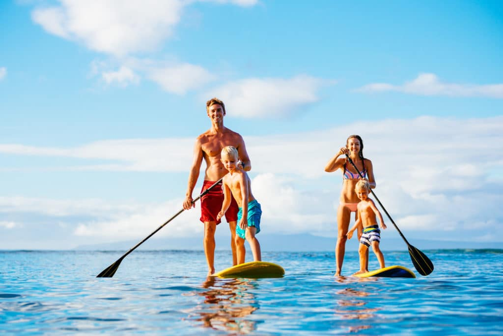 stand up paddle ile maurice