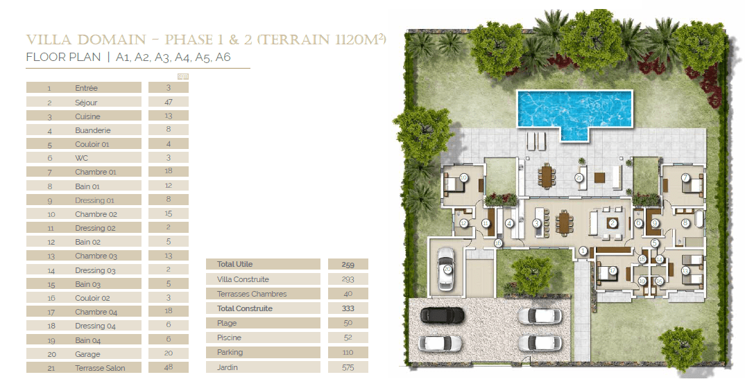 domaine teredom immobilier ile maurice