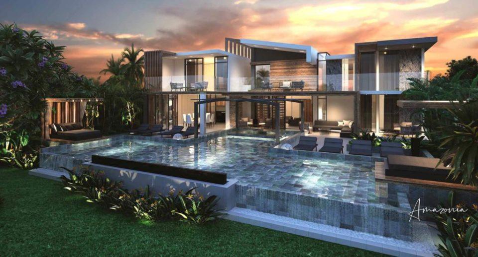 villa amazonia - cap marina - investir ile maurice