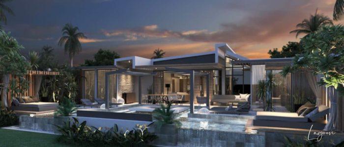 villa lagoon ext - cap marina - investir ile maurice