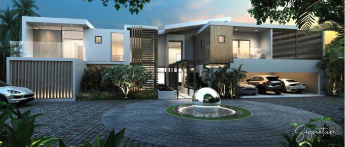 villa signature ext - cap marina - investir ile maurice