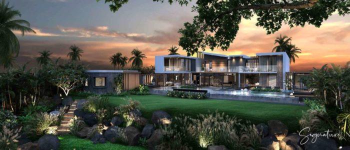 villa signature - cap marina - investir ile maurice