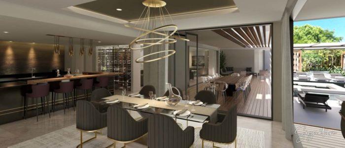cuisine villa signature - cap marina - investir ile maurice