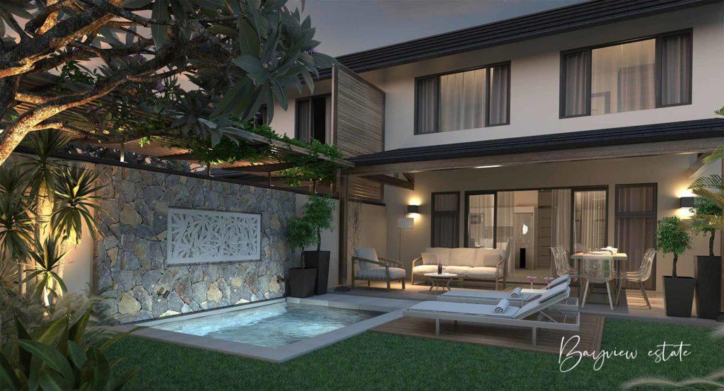 bayview estate 1 - cap marina - investir ile maurice