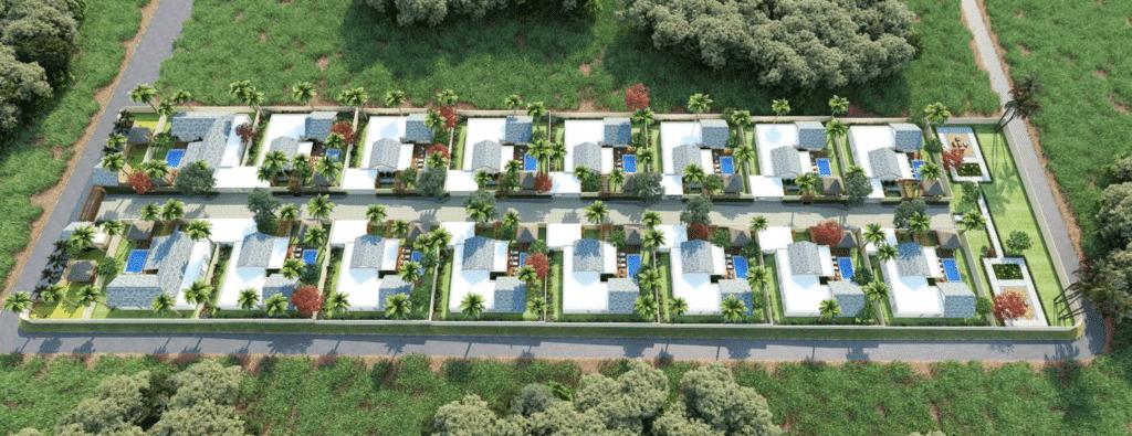plan kamirra villas Investir A Maurice